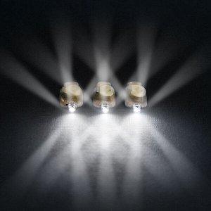 Светодиод 4d модульный белый 10 шт