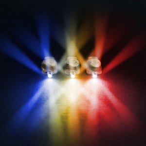 Светодиод 4d модульный разноцветный 10 шт