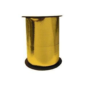 Лента Металлизированная для шаров Золото