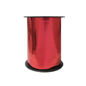 Лента Металлизированная для шаров Красная
