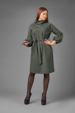 Платье П 769 (хаки)