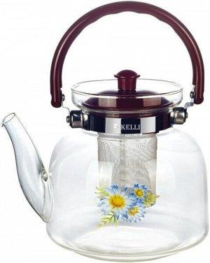 KL-3003 1,8 л Стеклянный заварочный чайник Kelli
