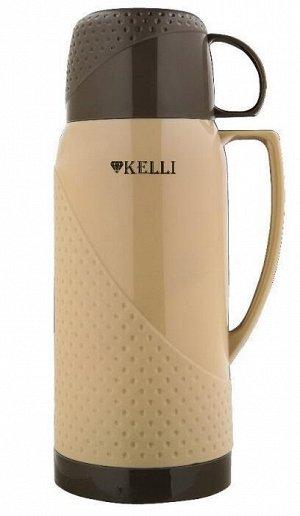 KL-0969 Термосы 1,8л. Kelli коричн