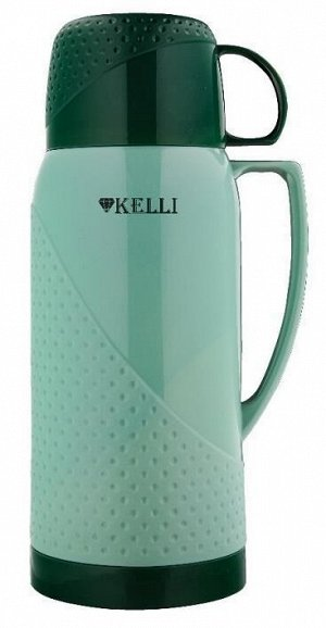KL-0969 Термосы 1,8л. Kelli голуб