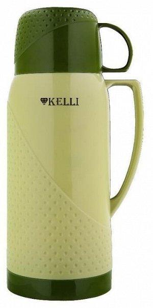 KL-0969 Термосы 1,8л. Kelli зелен