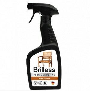 Ср-во д/мытья деревянных поверхностей Brilless Proffessional Wood 0.5л триггер