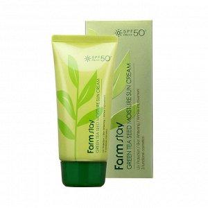 Green Tea Seed Moisture Sun Cream Крем солнцезащитный