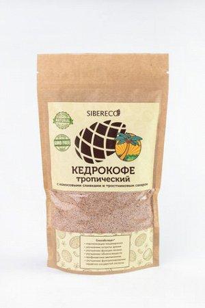 Кедрокофе Тропический с кокосовыми сливками и тростниковым сахаром 250г