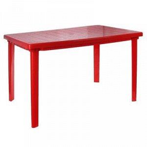 Стол прямоугольный, размер 120 х 85 х 75 см, цвет белый