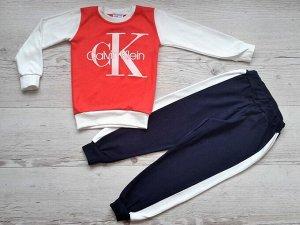 Костюм для девочки (кофта+брюки) УЗБЕКИСТАН (4-5-6)