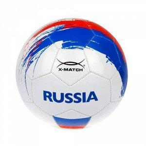 Мяч футбольный X-Match, 1 слой PVC, Россия