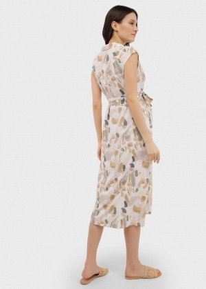 """Платье """"Уэнди"""" для беременных и кормящих бежевое"""