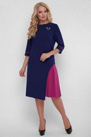Платье Ванда 1217 синее