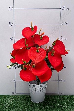 """Букет цветов """"Каллы"""" SF-5102, красный"""