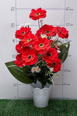 """Букет цветов """"Космея с ромашками"""" SF-5100, красный"""