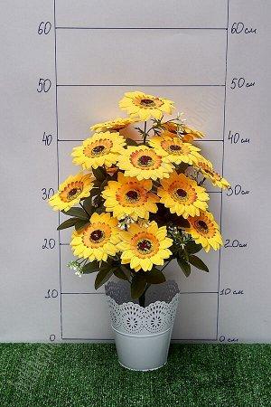 """Букет цветов """"Подсолнухи"""" SF-5108, желтый"""