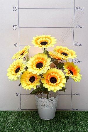 """Букет цветов """"Подсолнухи"""" SF-5109, желтый"""