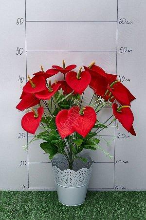 """Букет цветов """"Каллы"""" SF-5085, красный"""