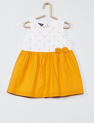 Платье с цветочным рисунком 'Eco-conception'