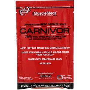 MuscleMeds, Carnivor, Bioengineered Beef Protein Isolate (36.4 g)