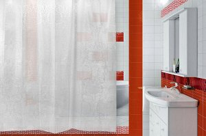 "Штора для ванной ""Rogai"" 180х180см 650-14"