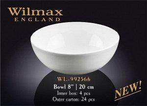 """WILMAX """"Round"""" Салатник 20см, 1700мл WL-992566"""