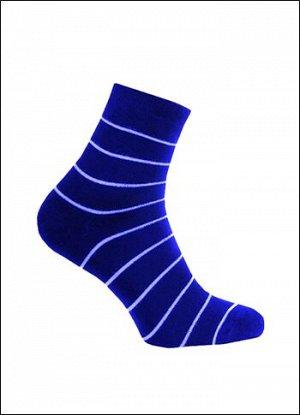 Носки женские махра темно-синий