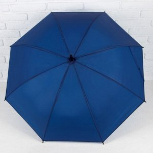 Зонт - трость полуавтоматический «Однотонный», 8 спиц, R = 49 см, цвет МИКС 4094062