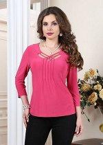 Арт. 0365Г блузка c плетением