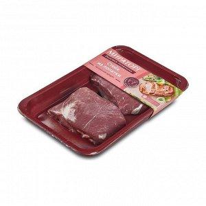 Телятина, стейк из лопатки, охлажденный, Розовая телятина Мираторг, 400г