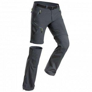 Мужские брюки модульные для горных походов MH550 QUECHUA