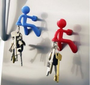 """Магнитный держатель ключей """"Человечек"""""""