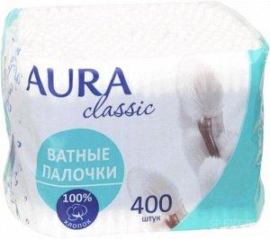 Ватные палочки Aura classic, 400 шт