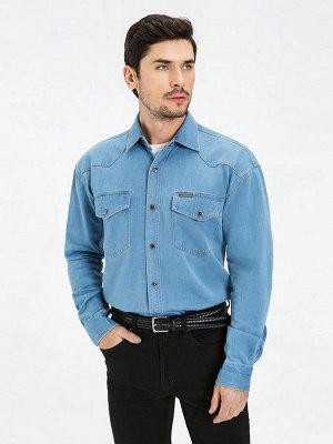 Фирменная джинсовая Рубашка VELOCITY