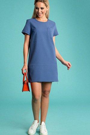 Платье Ариста голубой(П-34-3)