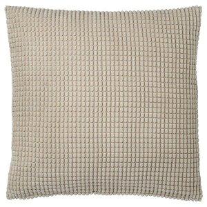 ГУЛЛЬКЛОКА Чехол на подушку, бежевый, 50x50 см