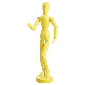 ГЕСТАЛЬТА Фигурка, желтый, 33 см
