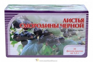 Смородины черной листья 20 ф/п