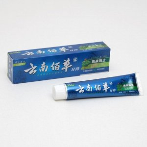 """Зубная паста """"Китайская традиционная на травах"""" с женьшенем 100 гр"""