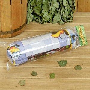 Валик из стружки можжевельника, L= 34 см, в индивидуальной упаковке