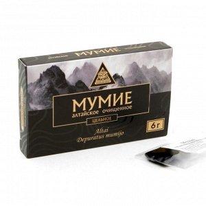 Мумиё очищенное «Алтайский Нектар», цельное, 6 г.