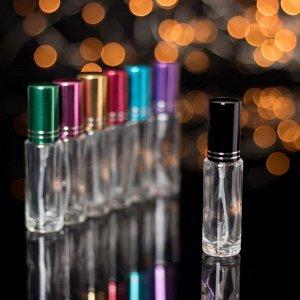 Флакон для парфюма «Классика», с распылителем, 8 мл, цвет МИКС