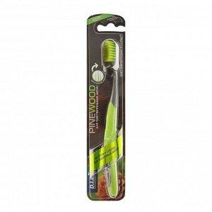 Зубная щётка D.I.E.S Pine Wood с экстрактом сосны, мягкая, 1 шт.