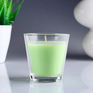 Свеча ароматизированная в стакане «Яблоко»