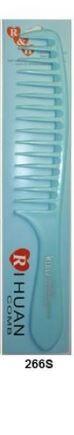 CN/ Расческа пластмассовая цветная №266 S