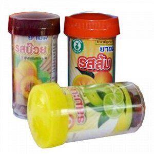 Тайские шарики от кашля и боли в горле