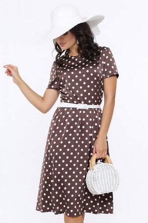 Платье Красотка, гламур, с ремешком