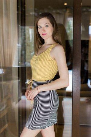 Платье 45705211 цвет Желтый