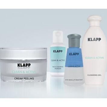 **KLP. Косметика из Германии. Цены прошлого года! — CLEAN & ACTIVE-Серия бережного очищения кожи — Очищение