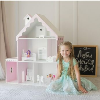 Кукольные домики и детская мебель, румбоксы и конструкторы — Домики для кукол и мебель для них (из МДФ)